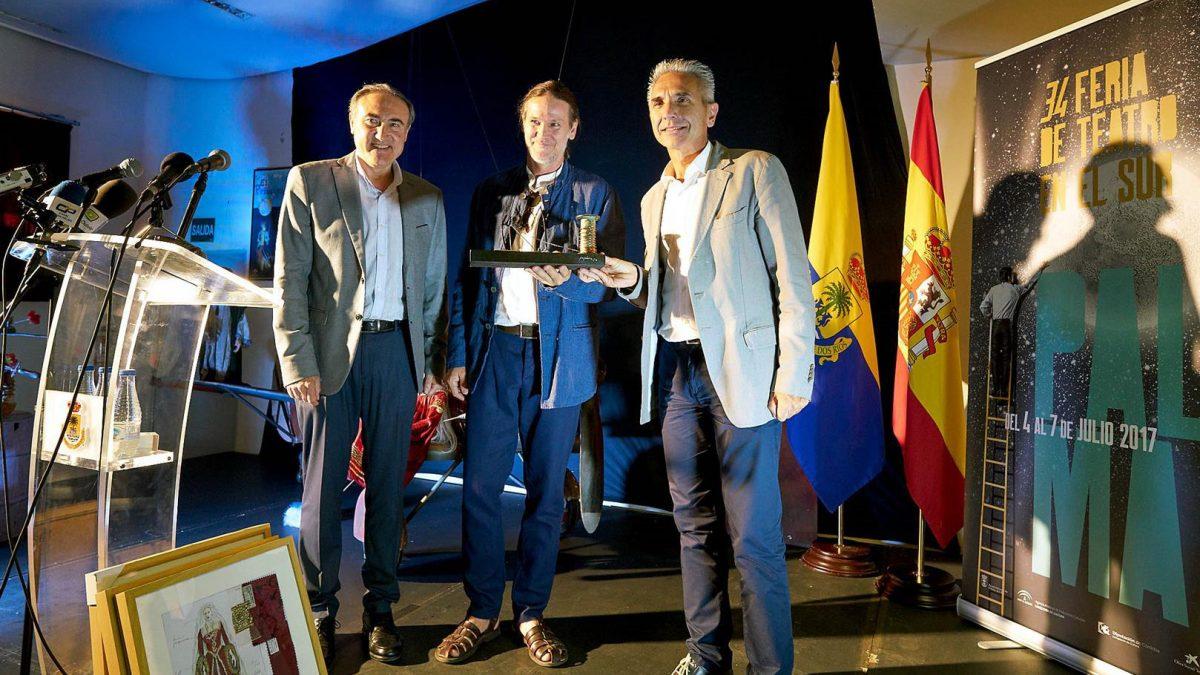 El homenaje a Curt Allen Wilmer marca el inicio de la Feria de Teatro de Palma del Río